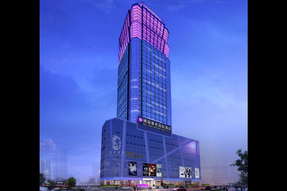 1外观-博丽雅布国际酒店-红专设计