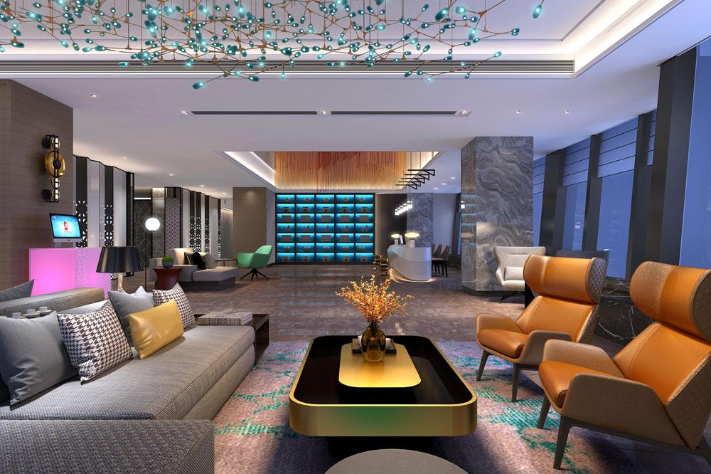3大厅-博丽雅布国际酒店-红专设计