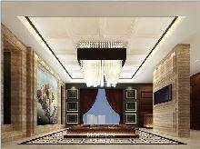 河南知名售楼处设计公司-福祥花园售楼处设计方案效果图