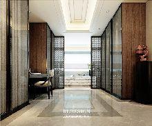 河南专业高端别墅设计公司作品-许昌新中式高端别墅设计方案效果图