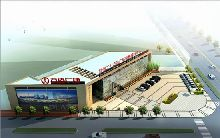 万达售楼处设计-郑州二七万达广场售楼处设计方案图纸