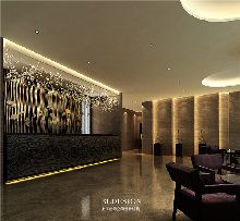 广城国际四星级酒店餐饮设计方案效果图