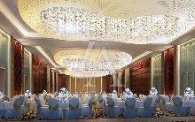 白金五星级酒店设计:泸州巨洋国际大酒店 宴会厅