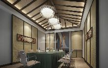 度假酒店设计:贵州黑湾河大酒店设计小会议室