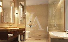 商务酒店设计:武汉汇豪白玫瑰大酒店客房卫生间设计