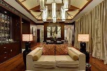 安徽六安蓝溪大酒店设计-套房客厅