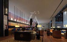 安徽六安蓝溪大酒店设计-大堂吧