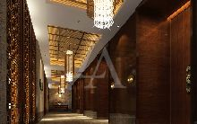 安徽六安蓝溪大酒店设计-走道