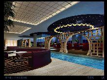山东烟台皇冠假日酒店-大堂吧设计