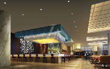 山东烟台皇冠假日酒店-行政酒廊设计图