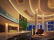 度假主题酒店设计:安徽九华山龙溪山庄大酒店-大堂设计