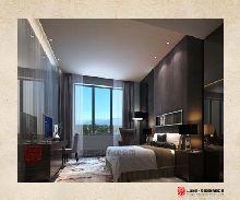 登封商务酒店设计效果图――酒店客房设计