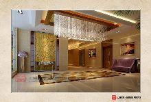 信阳久实商务酒店设计案例――酒店吊灯设计