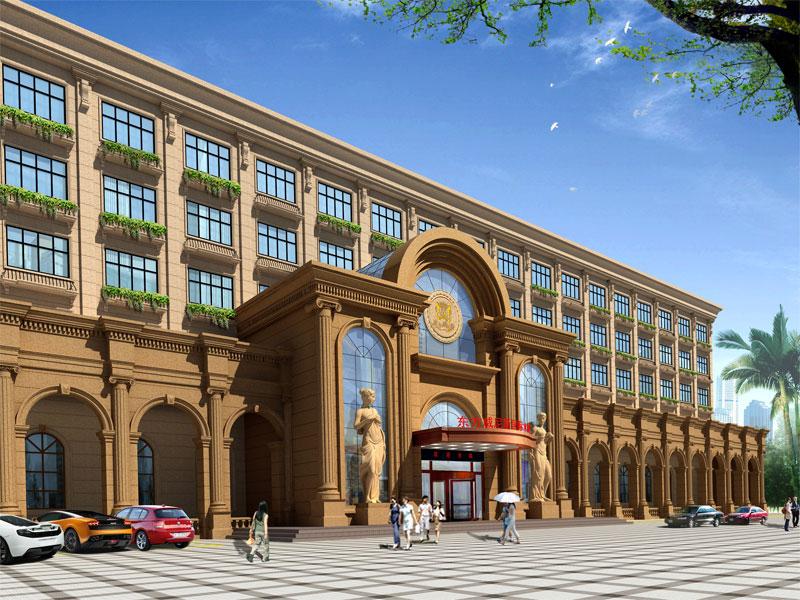 中国富鸿装饰东方威尼斯国际水城