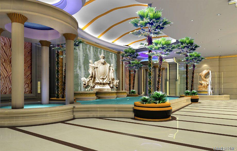 汝州梨园饭店温泉洗浴设计