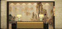 成都天辰酒店―服务前台设计效果图