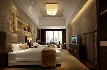 达州华夏大酒店-双人房效果图-客房效果图
