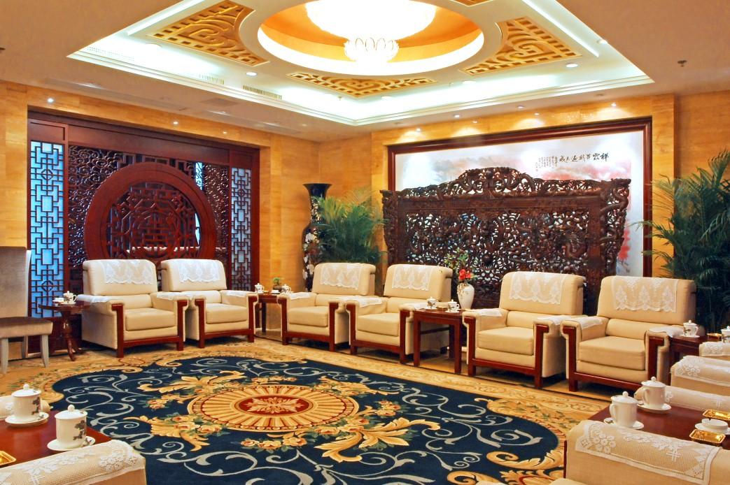 中式餐厅 全聚德和平门店; 全聚德 和平门 烤鸭店 装饰设计改造工程(2