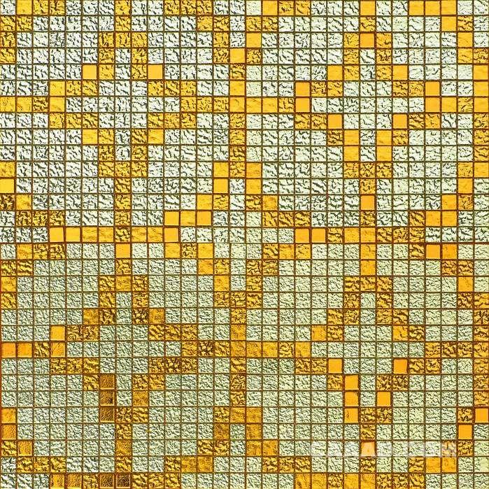 24K金银箔拼图玻璃马赛克