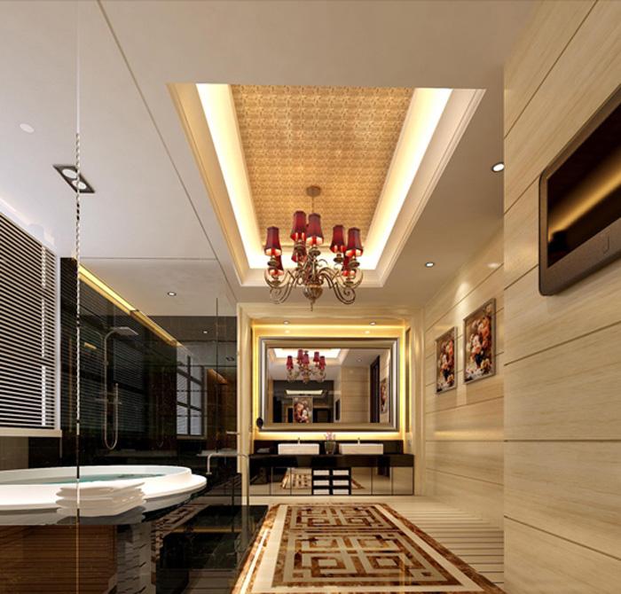 莱芜泰钢别墅设计-室内设计