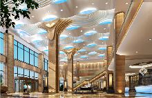 日照萨维尔皇家酒店-大堂设计