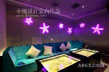 歌库海洋主题量贩KTV-娱乐空间-辛军设计作品
