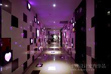 量贩式KTV设计音乐之声氧吧KTV-娱乐空间设计作品