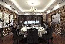 顺风景庐肥牛火锅餐厅设计