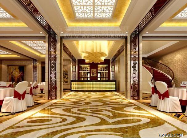 龙翔酒店装修设计效果图