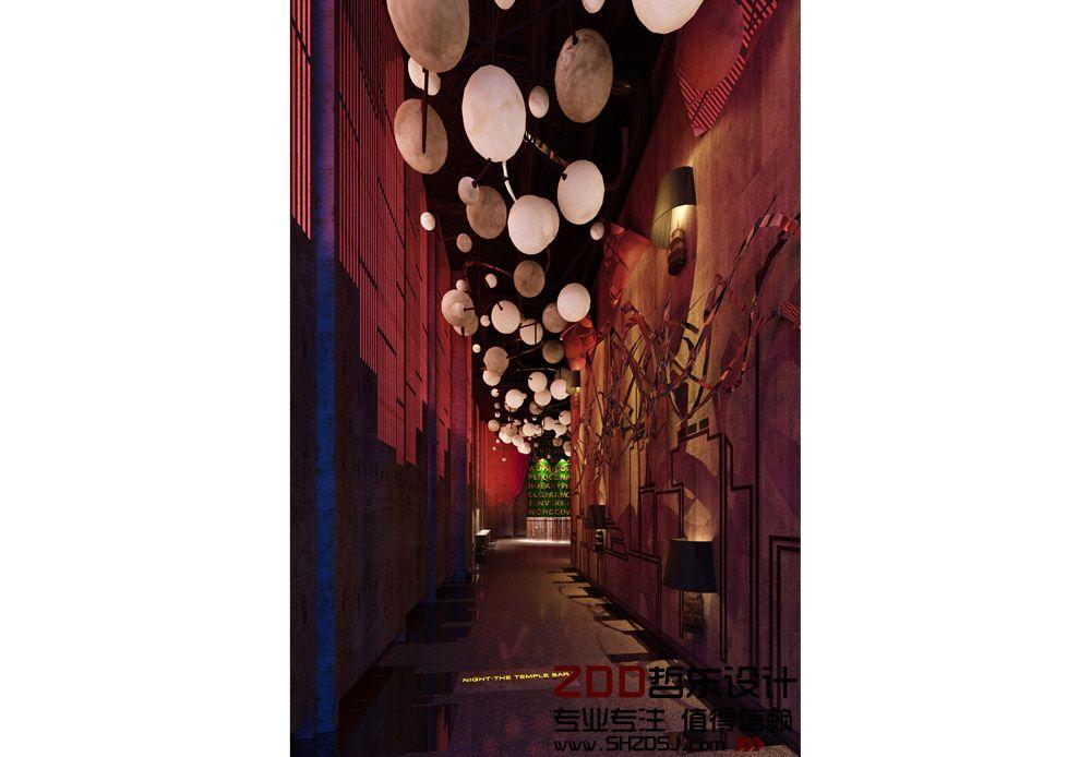 设计图 河南 郑州/项目名称:夜蒲酒吧